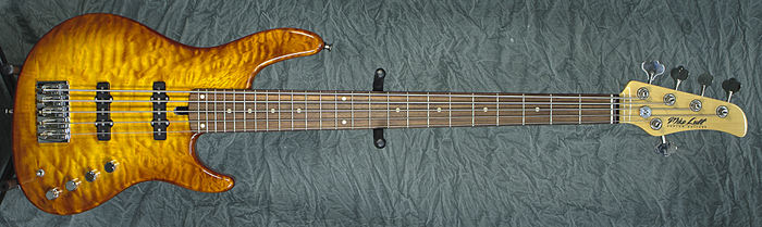 Mike Lull M5 (Honey Burst) **SOLD**