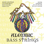Alembic CX3-45L Strings (45-105, Long)