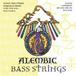 Alembic CX3-45S Strings (45-105, Short)