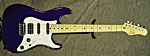Suhr Classic (Candy Cobalt Purple) **SOLD**