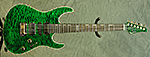 Suhr Modern Carve Top SN (Trans Green) **SOLD**