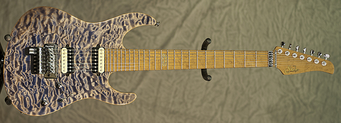 Suhr Modern 7-String (Faded Trans Whale Blue) **SOLD**