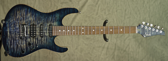Suhr Modern (Faded Trans Whale Blue Burst) **SOLD**