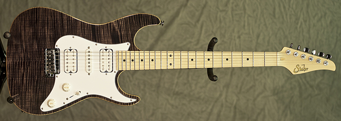 Suhr S4 (Trans Black) **SOLD**