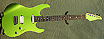 Suhr Modern (Candy Lime Metallic) **SOLD**