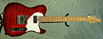Suhr Classic T (Trans Red Burst) **SOLD**