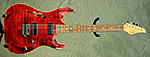 Suhr Standard Arch Top (Trans Red) **SOLD**