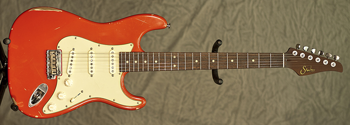 Suhr Classic Antique (Fiesta Red) **SOLD**
