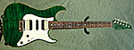 Suhr Standard (Trans Green) **SOLD**