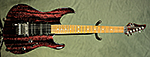 Suhr Modern Carve Top (Red Sparkle Drip) **SOLD**