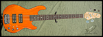 G&L L-2500 (Clear Orange, Empress)